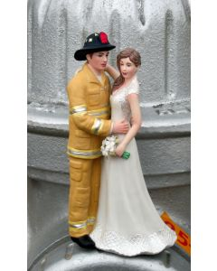 Firefighter Cake Topper