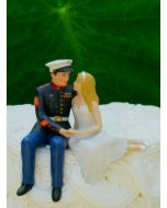 Marine Wedding Cake Topper by Magical Day