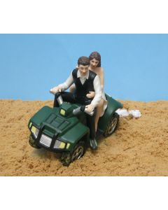 ATV Cake Topper -- Full Tilt!