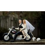 Bald Groom Cake Topper by Magical Day
